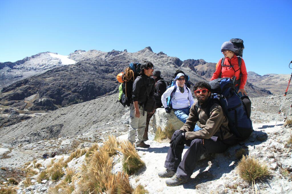 """La fine équipe, et mon guide : """"Juancho"""""""